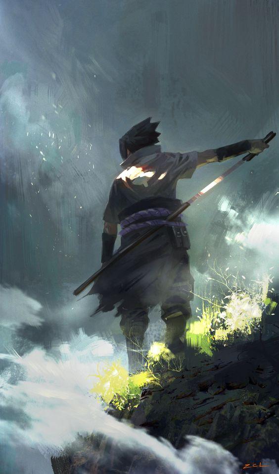 ArtStation - Sasuke, cl z