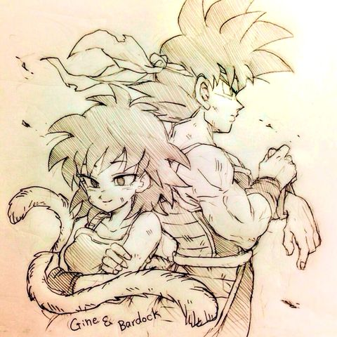 BARDOCK AND GINE ❤