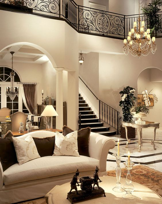 Beautiful interior by Causa Design Group ~Grand Mansions, Castles, Dream Homes Luxury Homes ~Wealth and Luxury