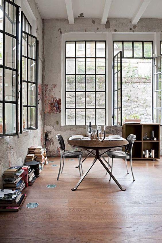 beautiful loft windows!!!