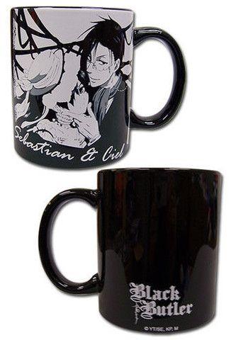 Black Butler - Sebastian & Ciel Coffee Cup Mug ...