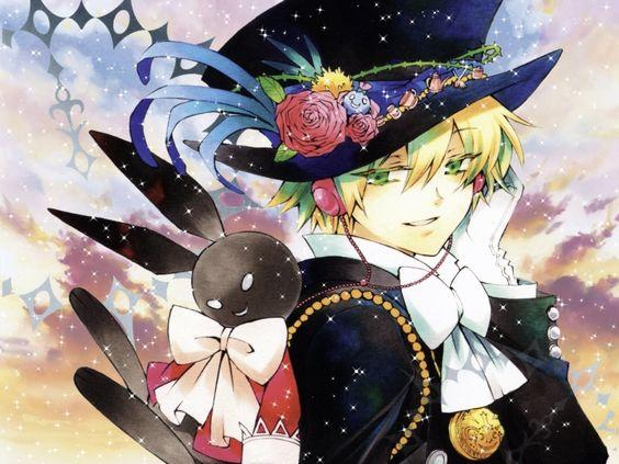 Black Rabbit Oz | Pandora Hearts #manga