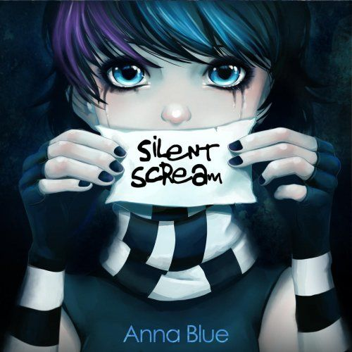 blue emo anime - Google Search