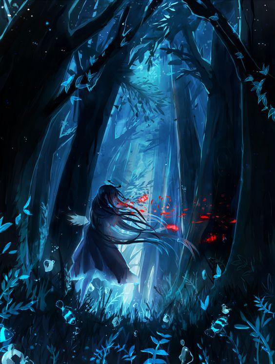 Blue Forest by YuruiKarameru