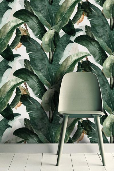 Botany wallpaper stunning and bold perfect for the very popular jungle trend.