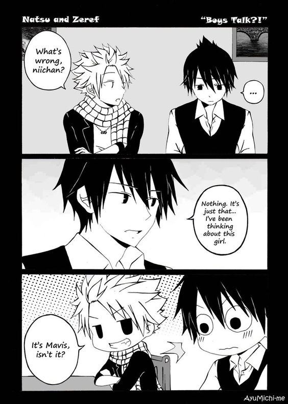 Boys Talk?! by AyuMichi-me