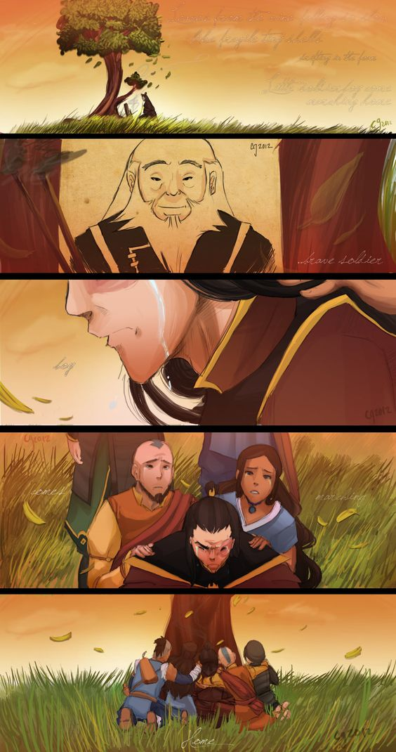 Brave Soldier Boy by Ceshira. (Avatar: The Last Airbender)