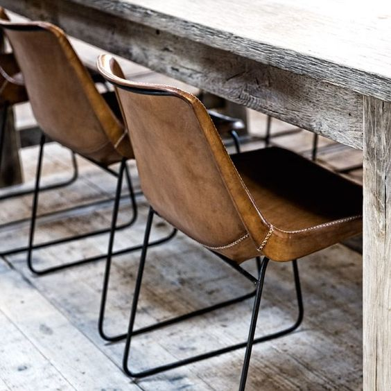 Bucket style chairs are great for the retro look, taking you right back to your school days!