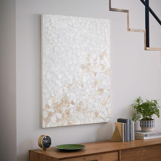 Capiz Wall Art - Crystal Formation | west elm