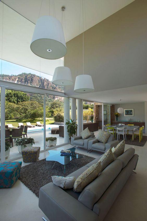Casa del Viento by A-001 Taller de Arquitectura | HomeDSGN. Indoor/outdoor room flow