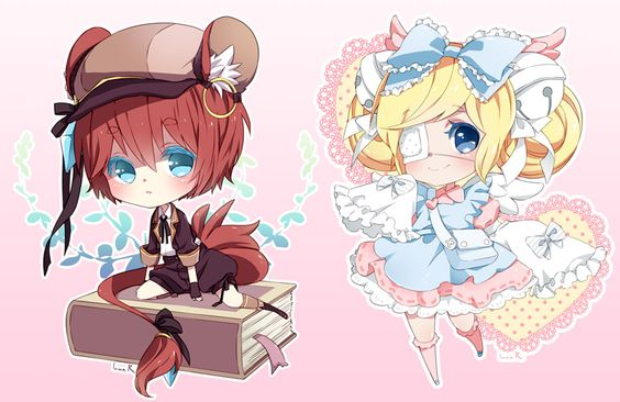 Chibi commission batch10 by inma on deviantART