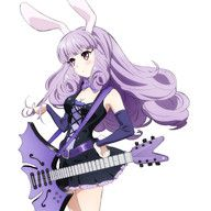 **Chuchu**, a vocalist and guitarist in Plasmagica. She's rigid honor student type who has a commanding presence in the band that others follow. Her favorite guitar is the Antique Batman.