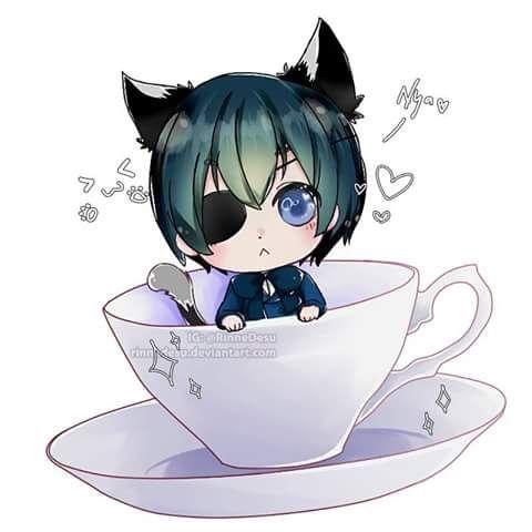 ciel phantomhive, black butler, and kuroshitsuji image