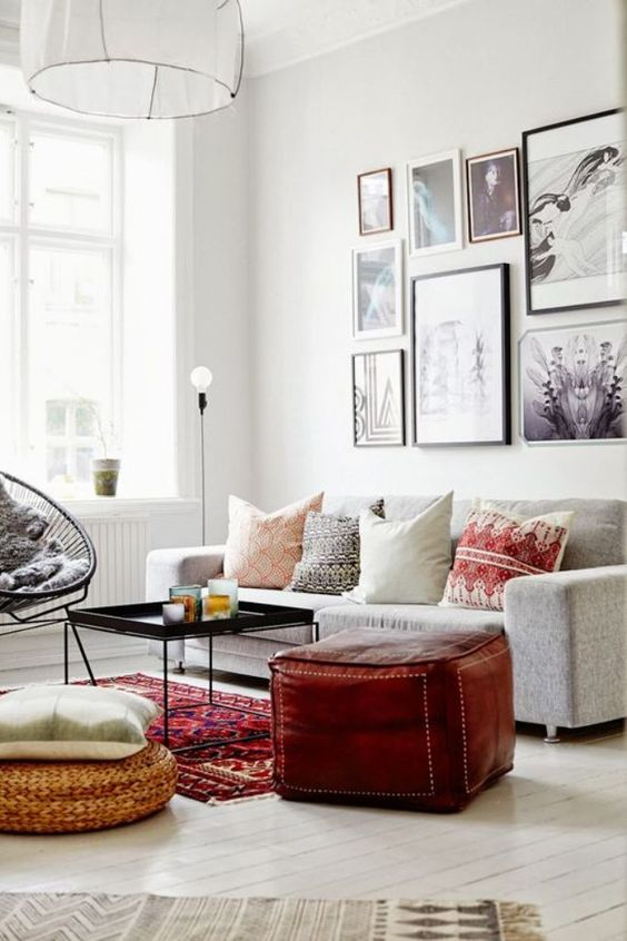 Classic home / Modern styling / Living Room / Persian & Oriental Carpets / Kilim Rugs