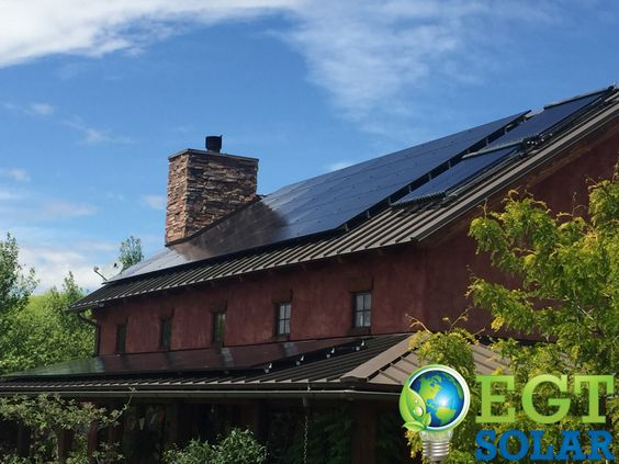 Combined solar technology, photovoltaic and thermal in Eagle, ID!