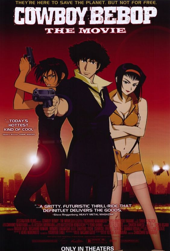 Cowboy Bebop 11x17 Movie Poster (2001)