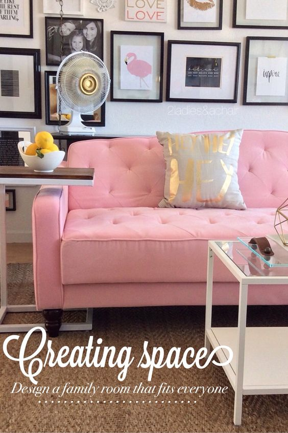 Creating space in a fun colorful way!