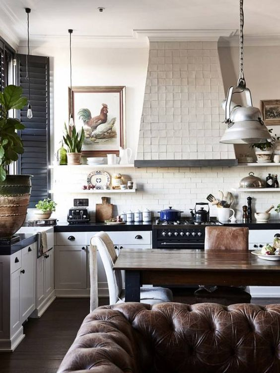 Creative Vintage Kitchen Wall Decor Ideas | Domino