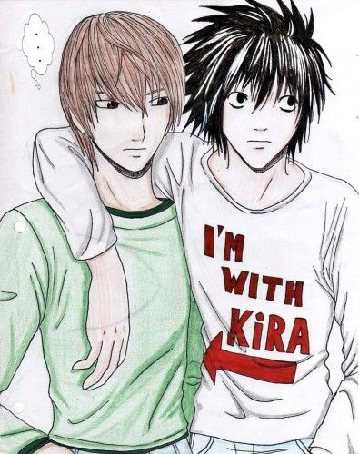 Death Note - L & Light lol