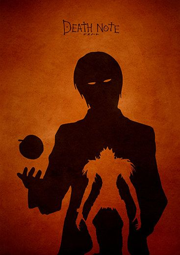 Death Note Minimalist Movie Poster by moonposter on Etsy