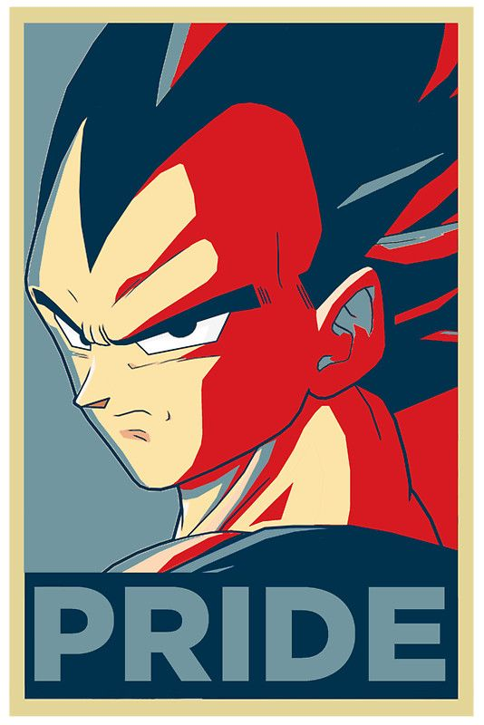 Dragon Ball Z poster, Vegeta