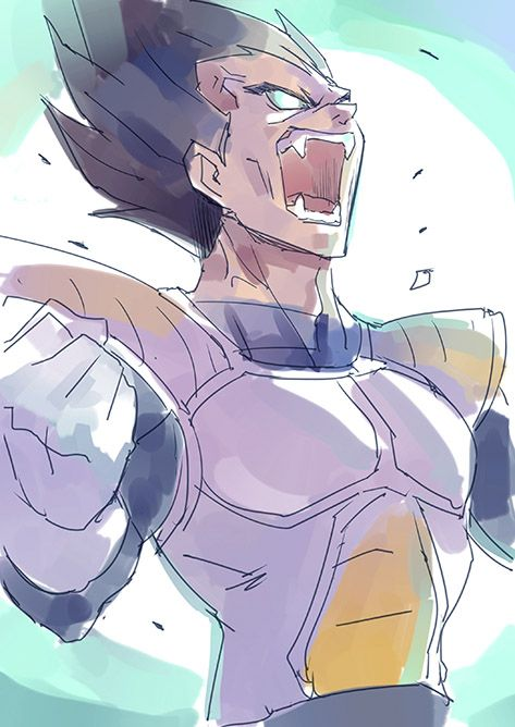 Dragon Ball Z   Vegeta   Anime