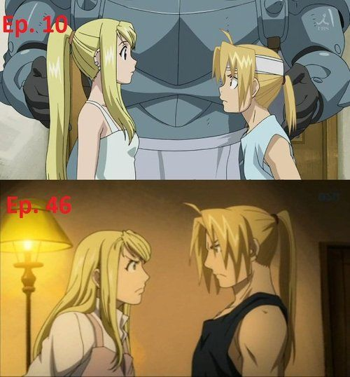 Ed and Winry (FMA)