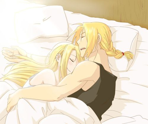 Ed and Winry of