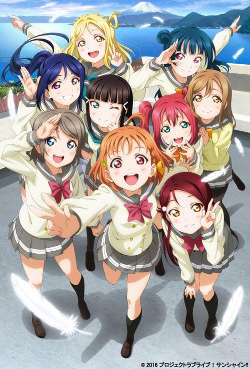 El Anime Love Live! Sunshine!! se estrenará el 2 de Julio.