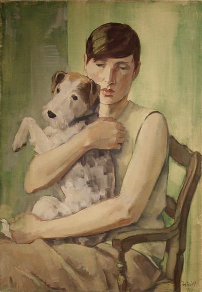 Emil Rudolf Weiß (German, 1875 - 1942)The portrait of Renée Sintenis, 1929