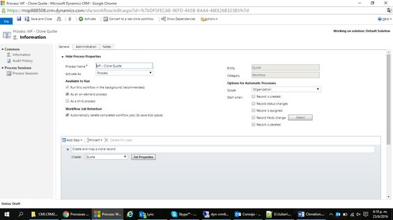 Entity Record Clonation With Dynamics CRM