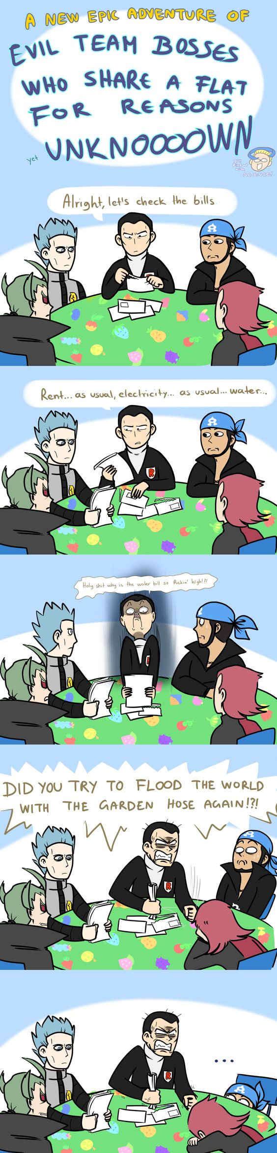 Evil Team Bosses ... pokemon
