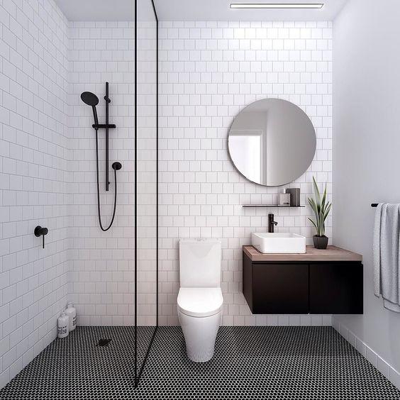 Fab bathroom with a masculine edge