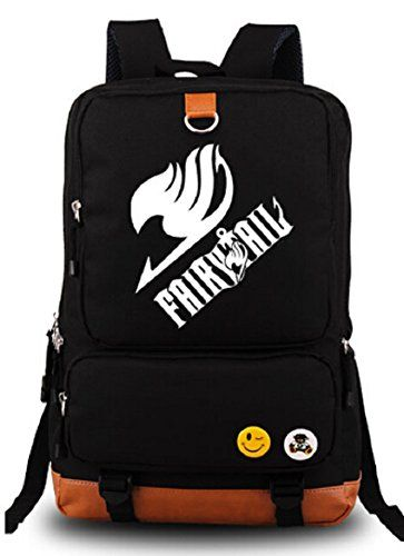 Fairy Tail backpack. I NEED THIS IN MY LIFE RIGHT NOW!!!!!!