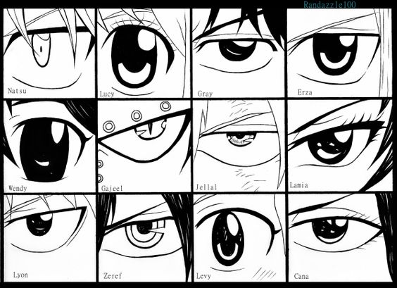 Fairy tail eyes
