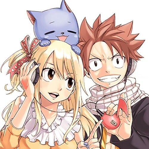 Fairy Tail | Happy, Lucy and Natsu