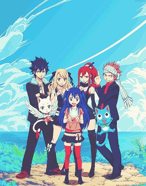 Fairy Tail! Team natsu