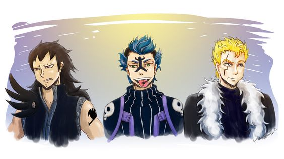 Fairy Tail Trio by SunHee2244 on DeviantArt