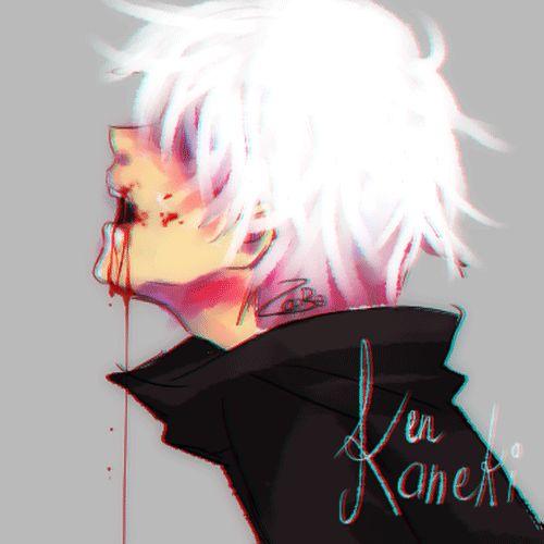 fanart of Kaneki ken from Tokyo ghoul