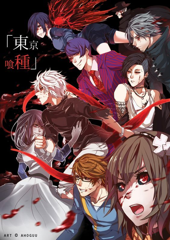 FanArt of the Day: 20th Ward Ghouls (Tokyo Ghoul) Artist: Ahoguu