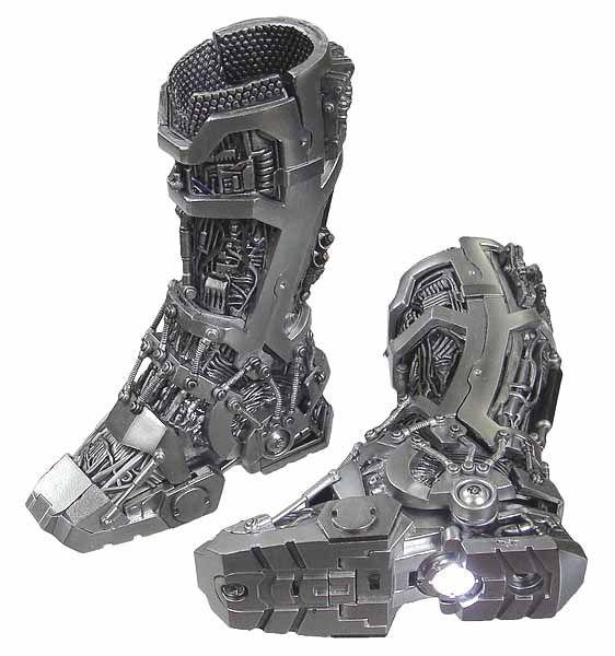 For Gabe - Iron Man: Tony Stark Mech Test - Mech Boots w/ Lights