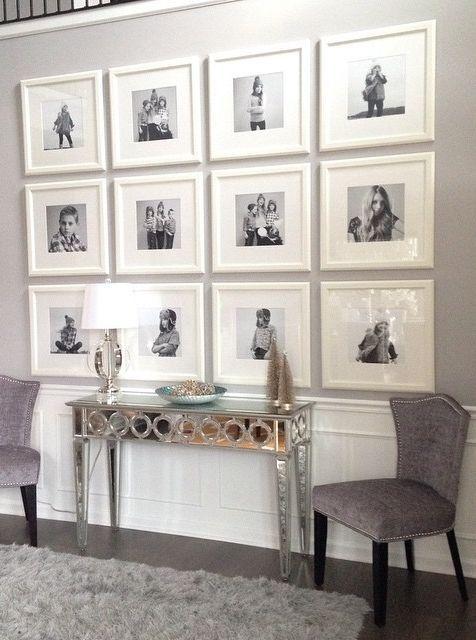 Frames via Z Gallerie- entry way