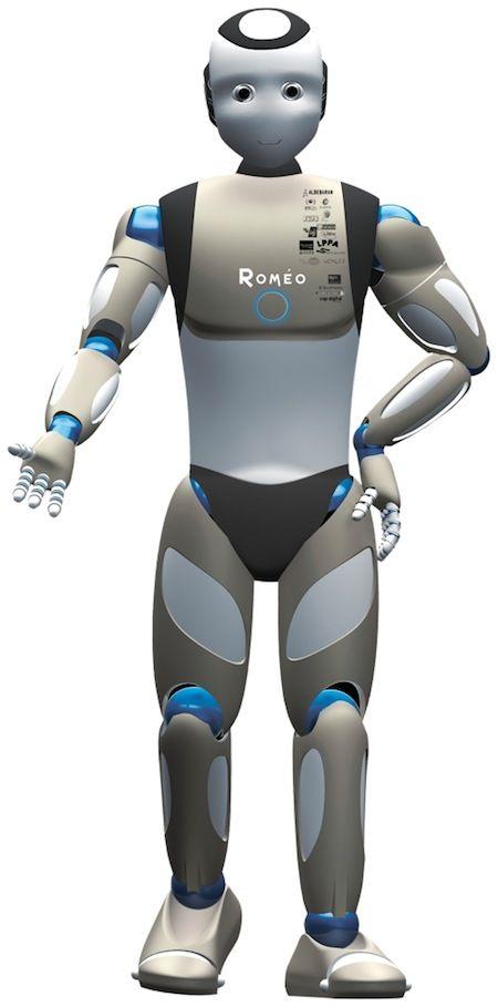 France Developing Advanced Humanoid Robot Romeo