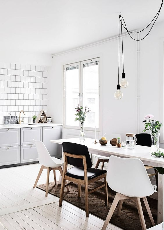 fresh style | swedish apartment