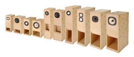 Fresh Voices for DIY Kit for Back Loaded Horn Speaker Boxes [1]