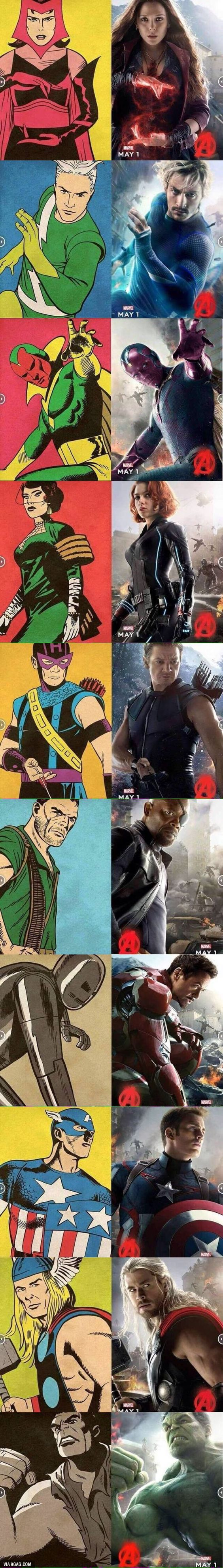 From the comics to the big screen.