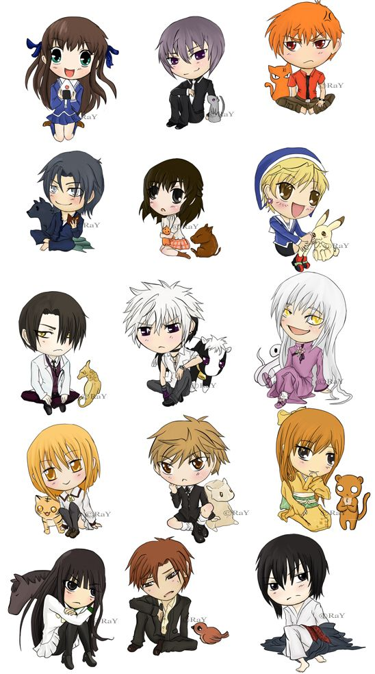 Fruits basket anime : I love this!!!