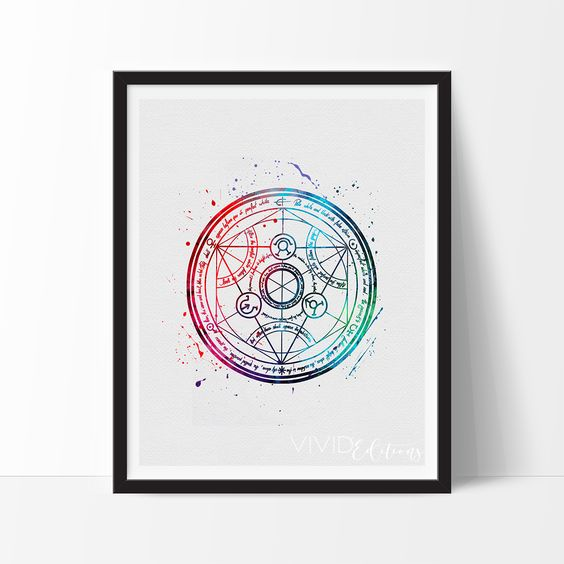 Fullmetal Alchemist, Transmutation Circle