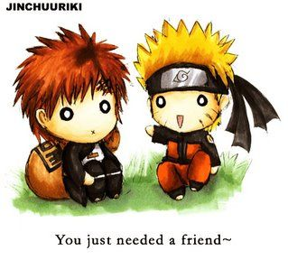 Gaara & Naruto: Friends