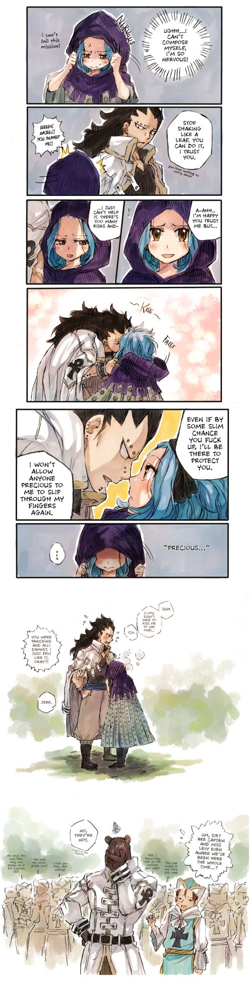 Gajeel & Levy | Fairy Tail